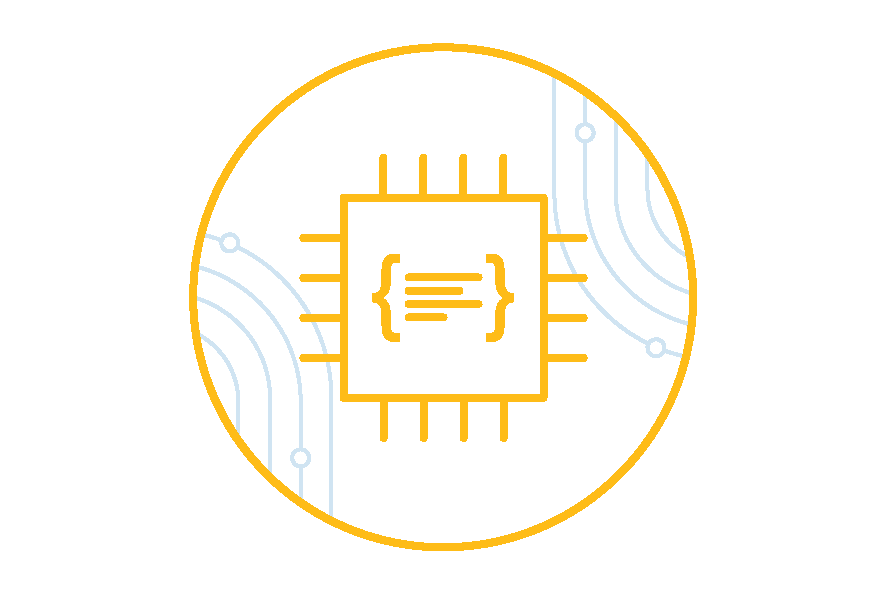 Microcontroller firmware icon